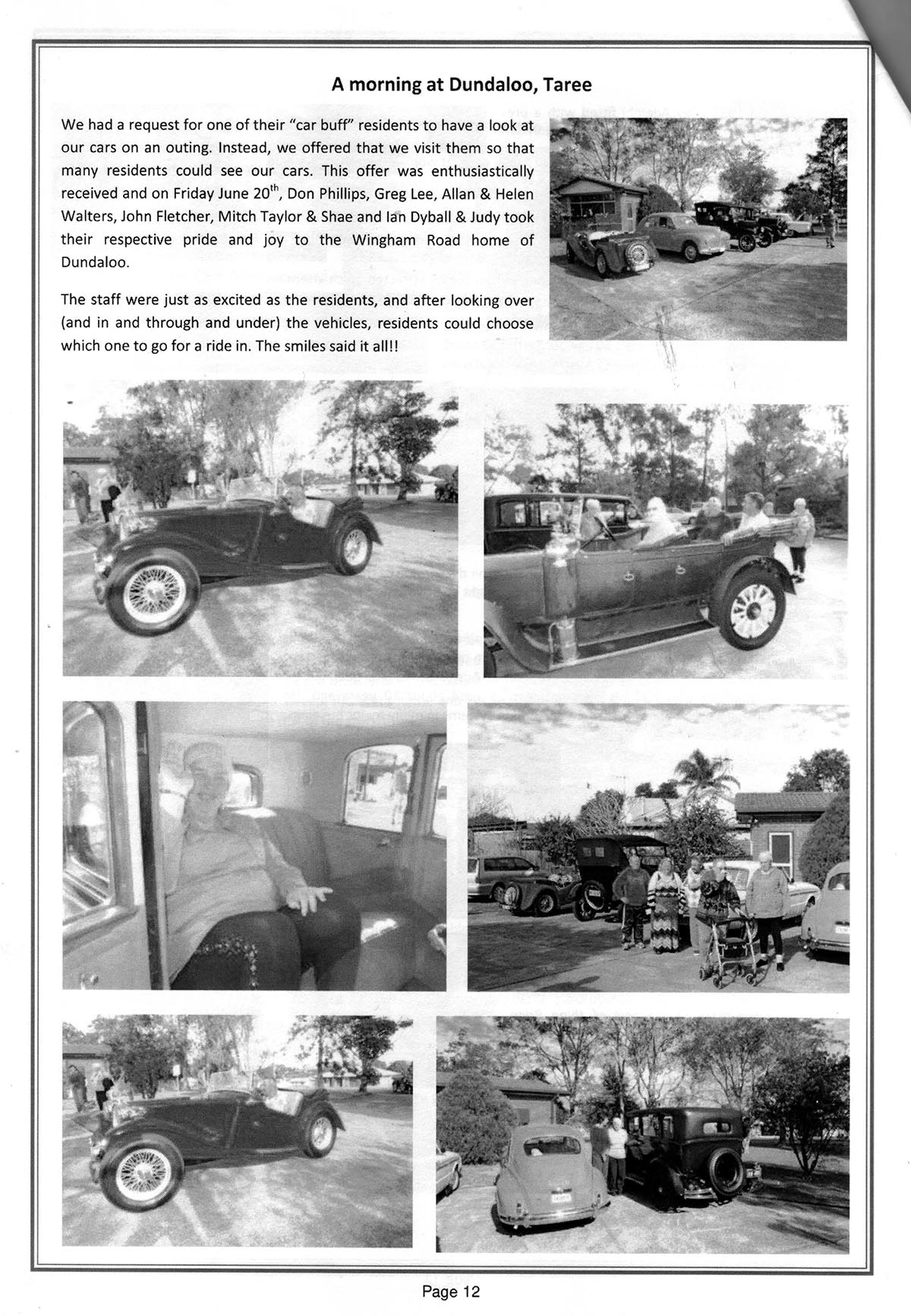Taree Historic Motor Club