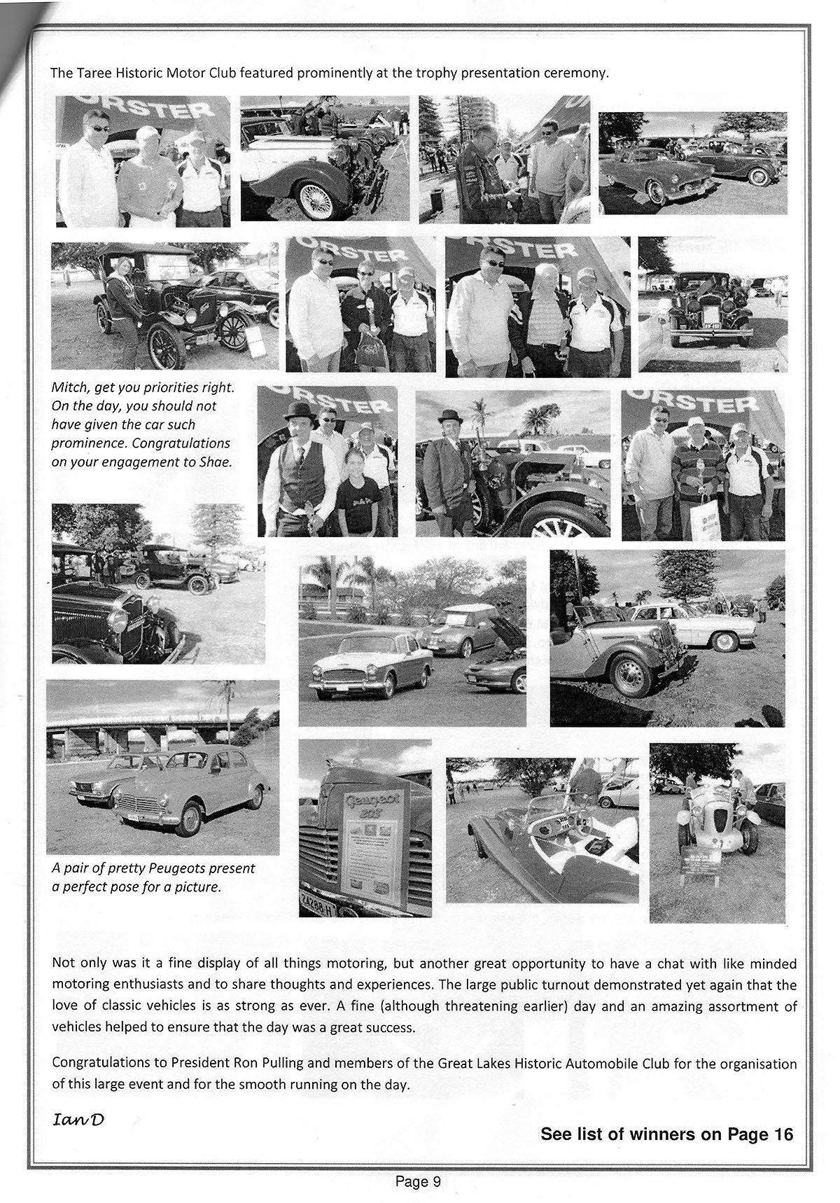 Taree Historic Motor Club