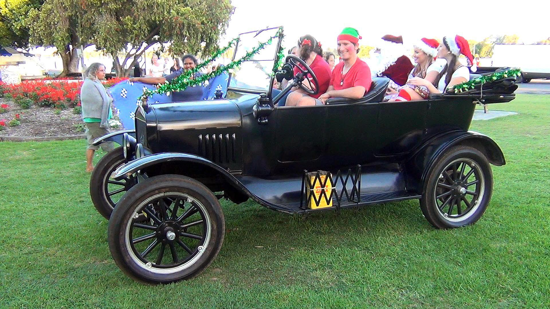 Ford Model T at Carols in the Park