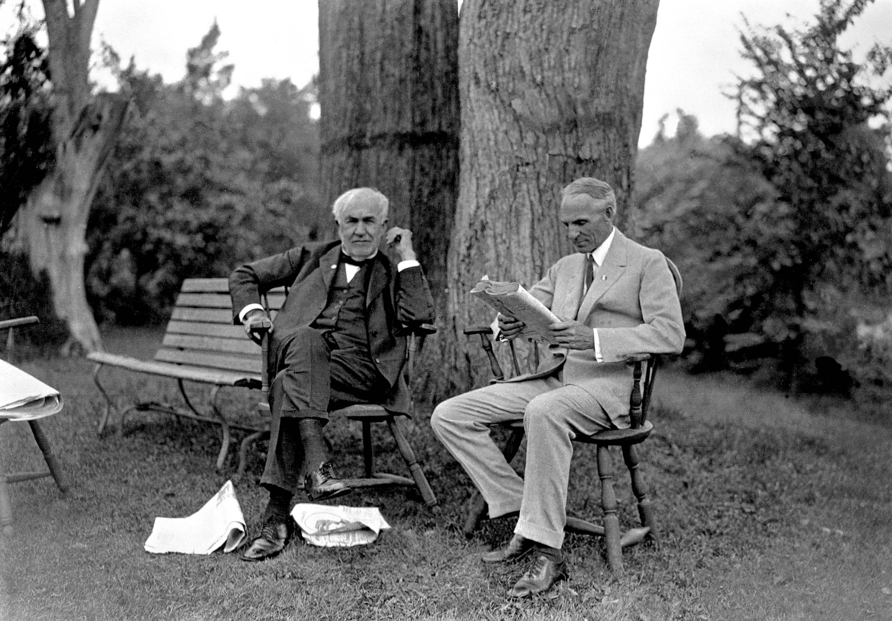 Thomas Edison & Henry Ford