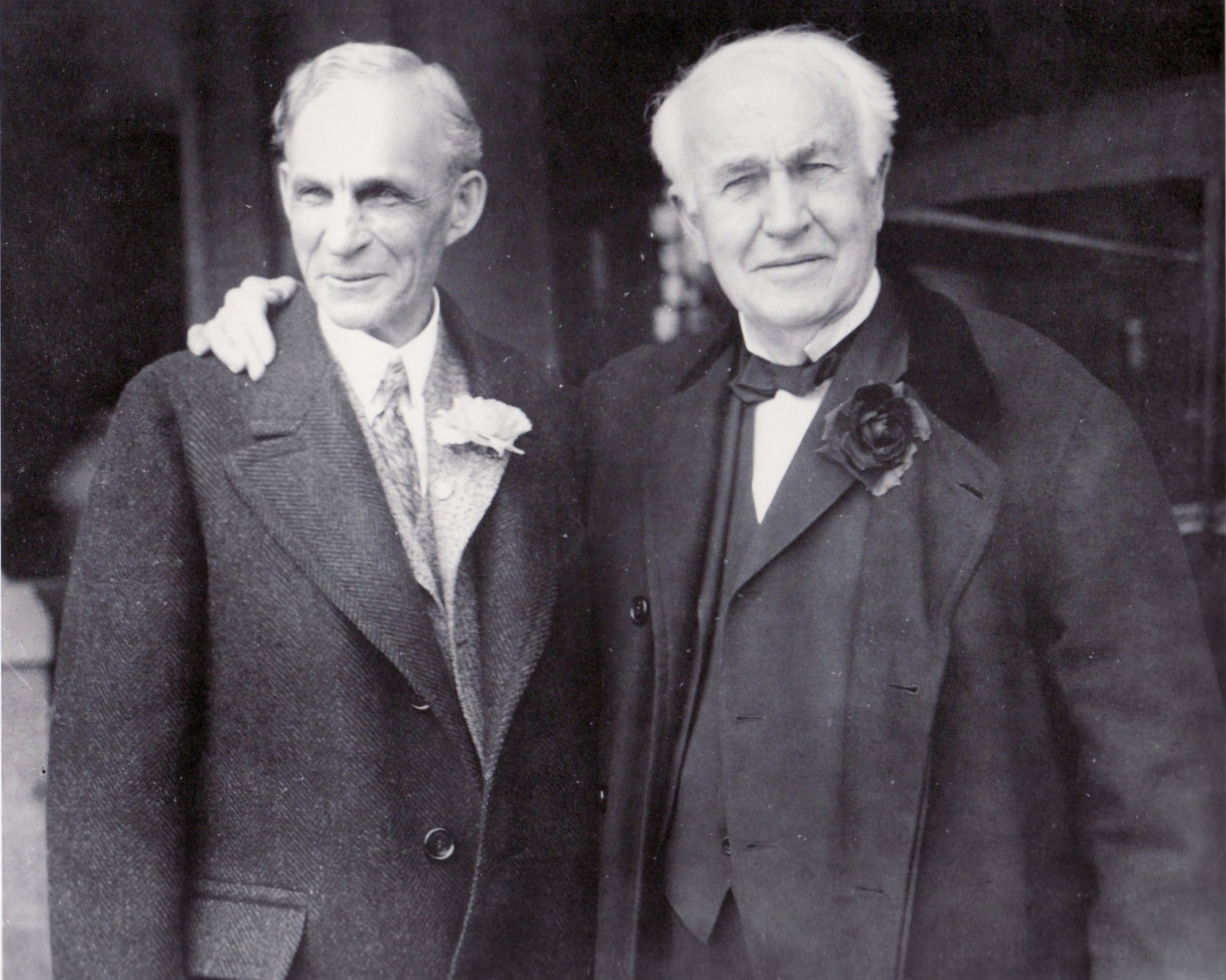 Henry Ford & Thomas Edison