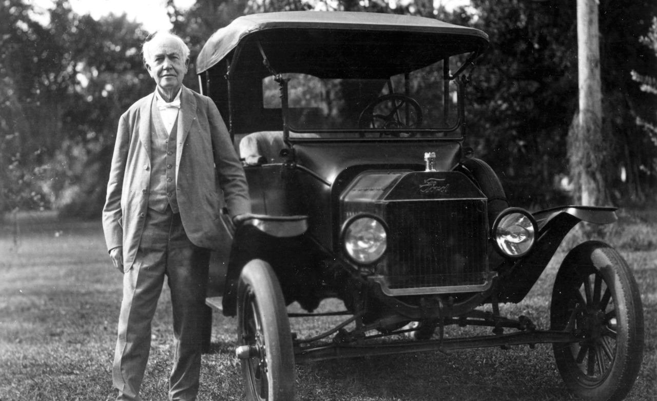 Thomas Edison's Ford Model T