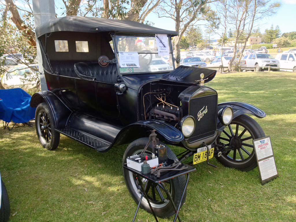1925 Ford Model T at Old Bar Beach Festival