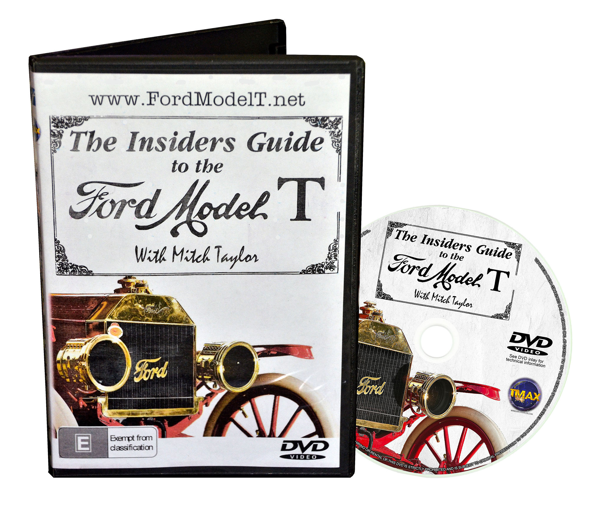 The Insiders Guide to the Ford Model T - DVD - How to Drive a Model T Ford