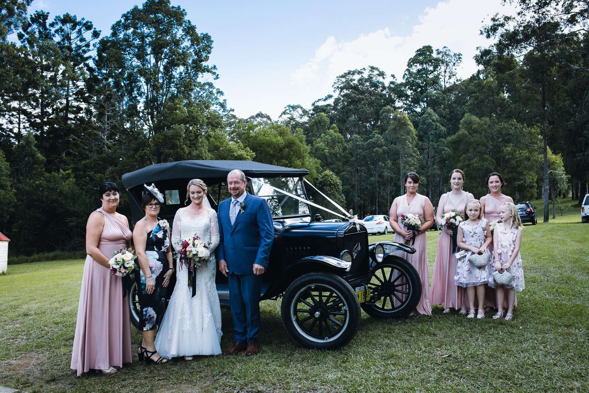 A Vintage Wedding in my Ford Model T