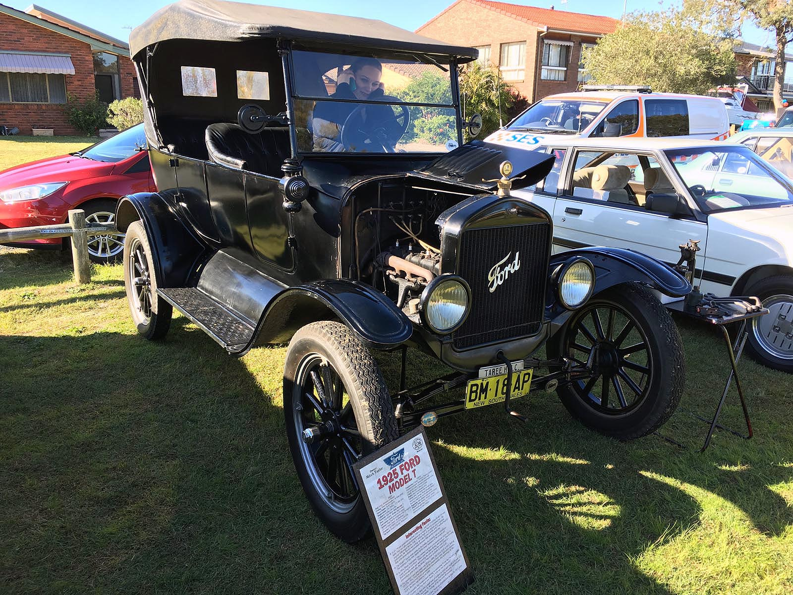 My 1925 Ford Model T touring at Forster Keys Family Fun Day
