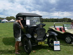 Mitch's Model T at Old Bar Beach Festival - SEP 29, 2012