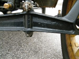 model t ford front axle 1911 to 1927