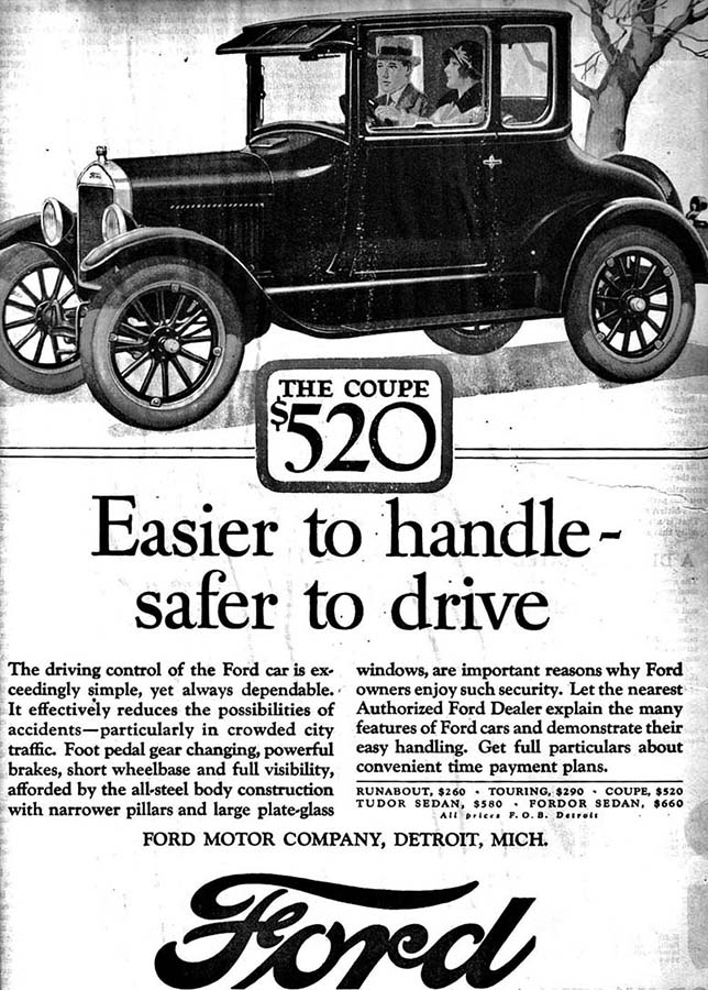 an analysis of henry fords model t