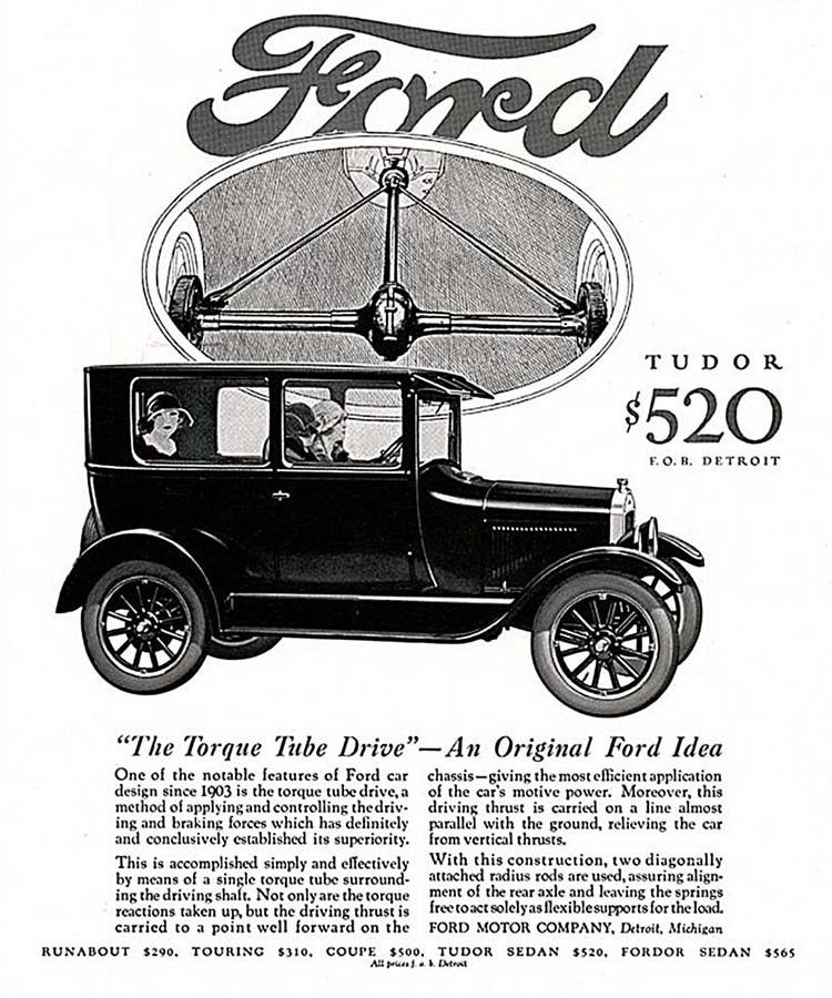 Early  S Car Ad