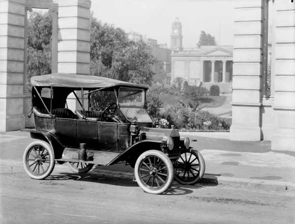 how much was a model t