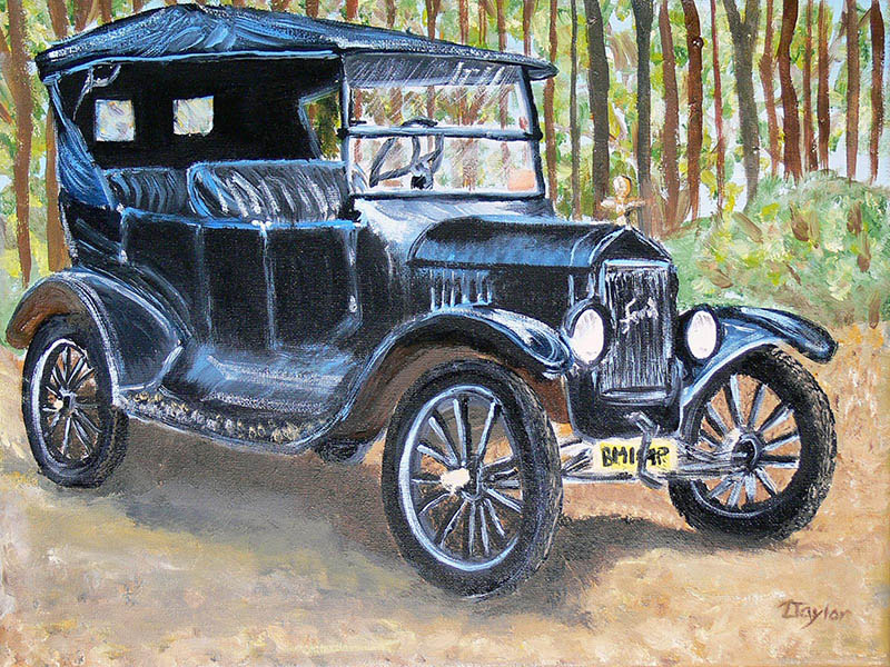 Coloring Pages Model T Ford : Fordmodelt.net for model t owners & enthusiasts